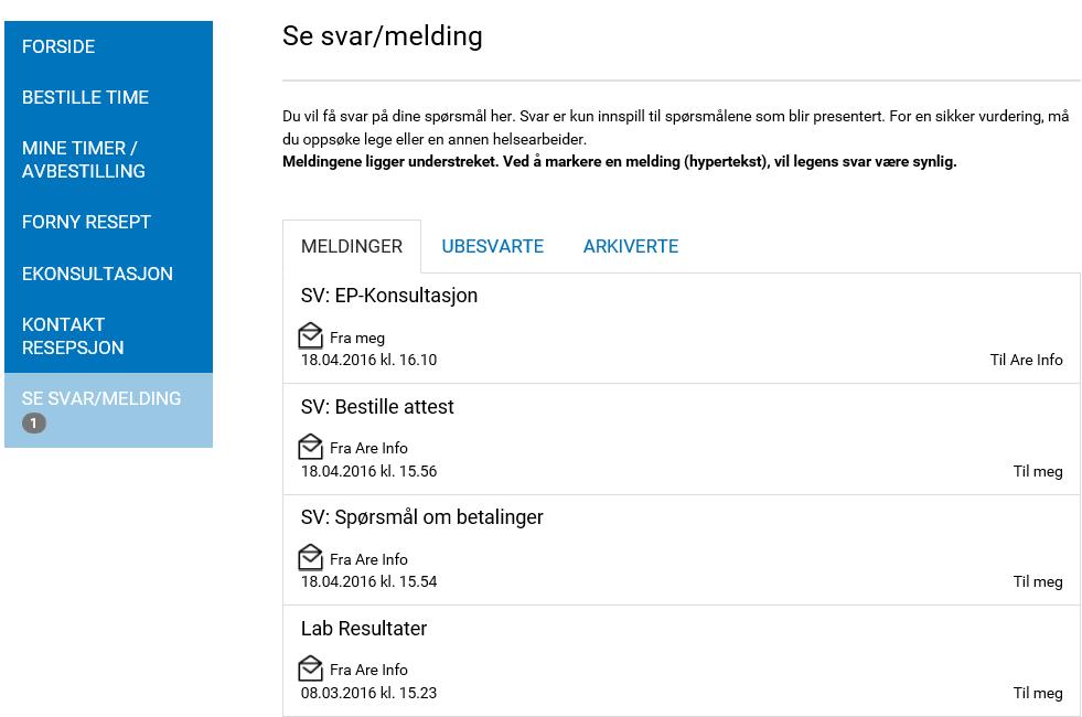 SeSvarMelding